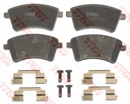 Комплект тормозных колодок, дисковый тормоз TRW GDB1785