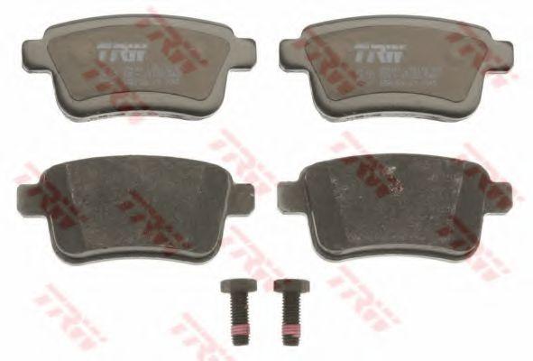 Комплект тормозных колодок, дисковый тормоз TRW GDB1786