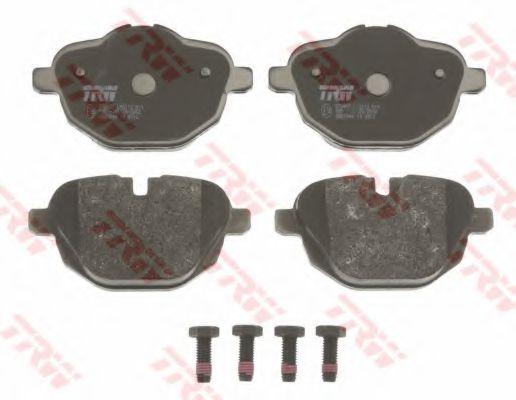 Комплект тормозных колодок, дисковый тормоз  арт. GDB1840
