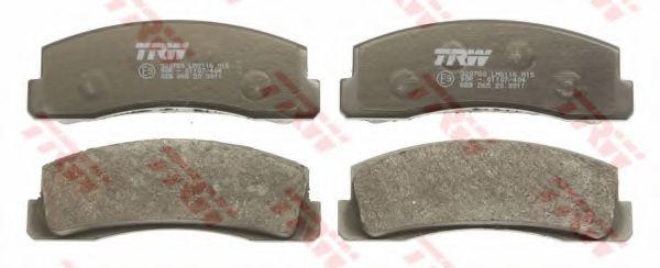 Тормозные колодки  арт. GDB265