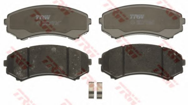 Комплект тормозных колодок, дисковый тормоз TRW GDB3246