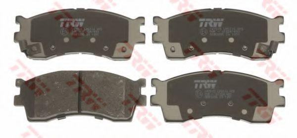 GDB3285  TRW - Гальмівні колодки до дисків  арт. GDB3285