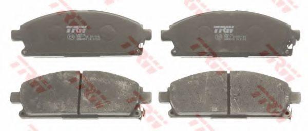 GDB3312  TRW - Гальмівні колодки до дисків  арт. GDB3312