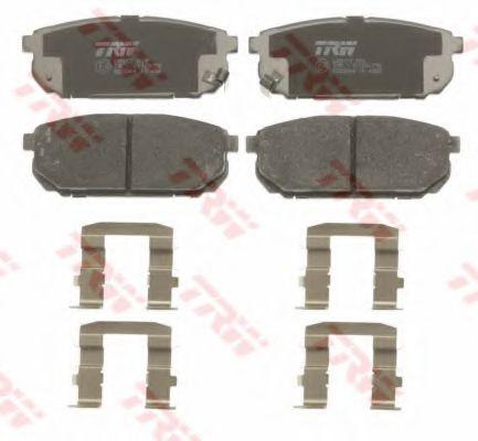 GDB3344  TRW - Гальмівні колодки до дисків  арт. GDB3344