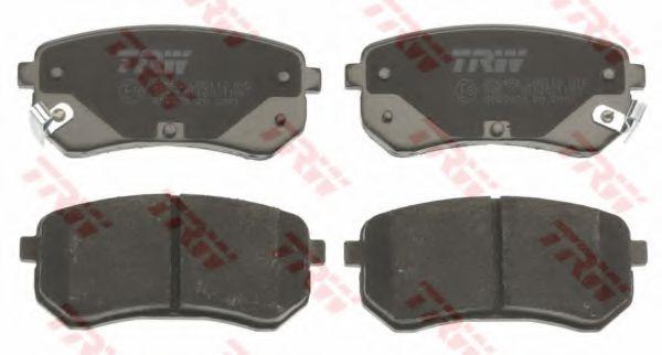 GDB3370  TRW - Гальмівні колодки до дисків  арт. GDB3370