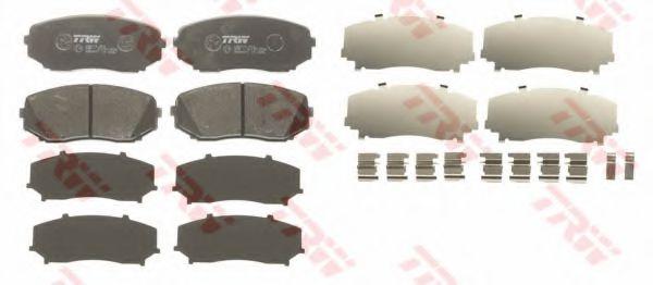 GDB3471  TRW - Гальмівні колодки до дисків LPR арт. GDB3471