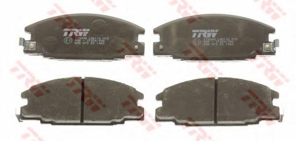 Комплект тормозных колодок, дисковый тормоз  арт. GDB870