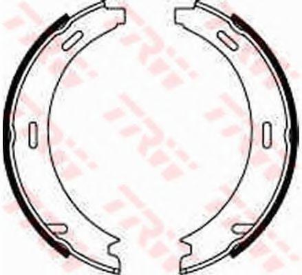 GS8208  TRW - Гальмівні колодки до барабанів BOSCH арт. GS8208