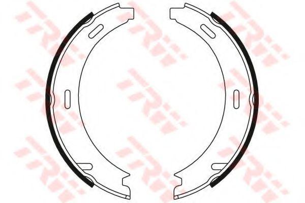 Гальмівні колодки, барабанні TRW GS8208