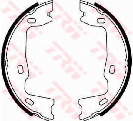 Гальмівні колодки, барабанні TRW GS8223