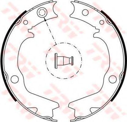 Гальмівні колодки, барабанні TRW GS8479