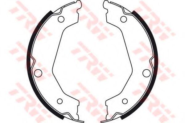 GS8722  TRW - Гальмівні колодки до барабанів  арт. GS8722