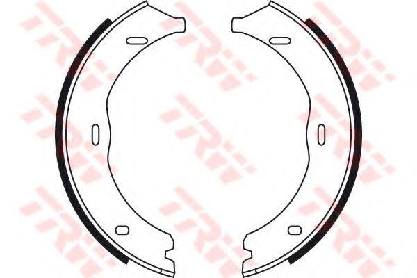 Гальмівні колодки, барабанні TRW GS8741