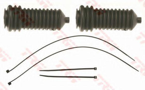 К-кт пильовиків рульової рейки TRW JBE162