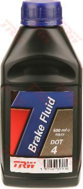 Тормозные жидкости Тормозная жидкость TRW BRAKE FLUID DOT 4 (0,5л.)  арт. PFB450