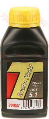Тормозная жидкость Жидкость тормозная 0.250 L  DOT 5.1   арт. PFB525