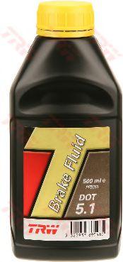 Тормозные жидкости Тормозная жидкость TRW DOT 5.1 (0,5л.)  арт. PFB550