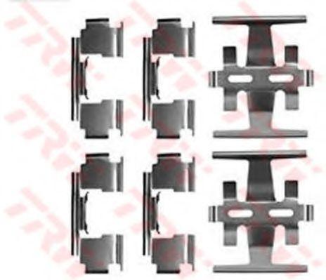 Комплектующие, колодки дискового тормоза  арт. PFK266