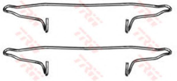 PFK300  TRW - Комплект для монтажу дискових гальмівних колодок  арт. PFK300