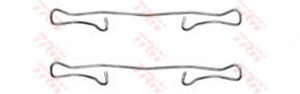 Колодка торм. компл. монтажный FORD, MB, OPEL передн. (пр-во TRW)                                     арт. PFK302