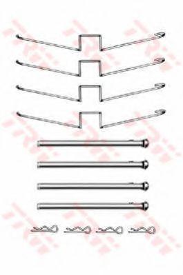 Комплектующие, колодки дискового тормоза  арт. PFK358