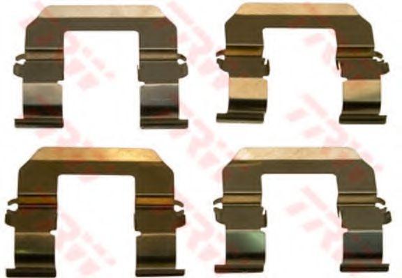 Комплектующие, колодки дискового тормоза  арт. PFK498