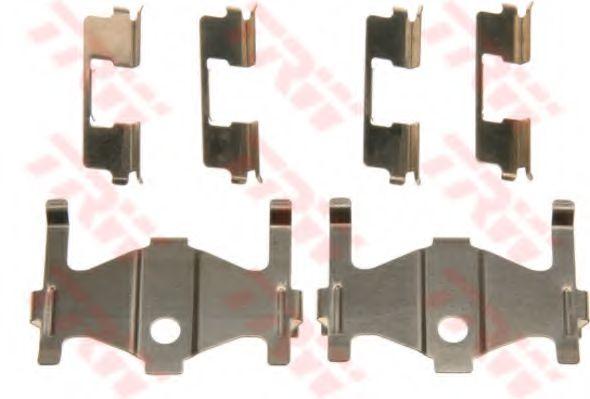 Комплектующие, колодки дискового тормоза  арт. PFK559