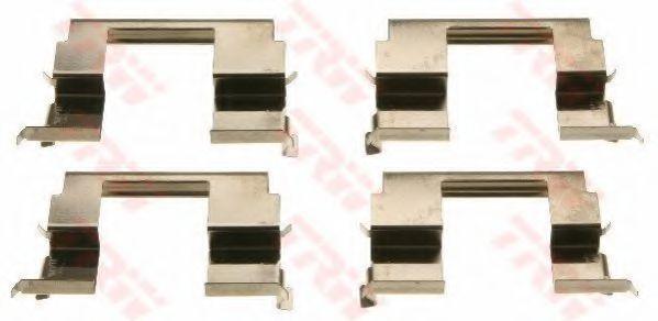Комплектующие, колодки дискового тормоза  арт. PFK620