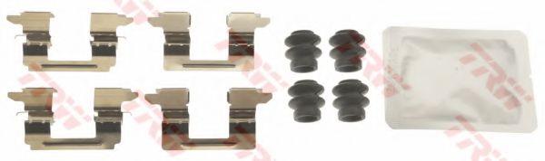 Комплектующие, колодки дискового тормоза  арт. PFK673
