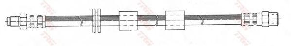 PHB101  TRW - Гальмівний шланг  арт. PHB101