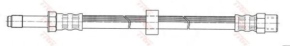 Brake hose TRW PHB382