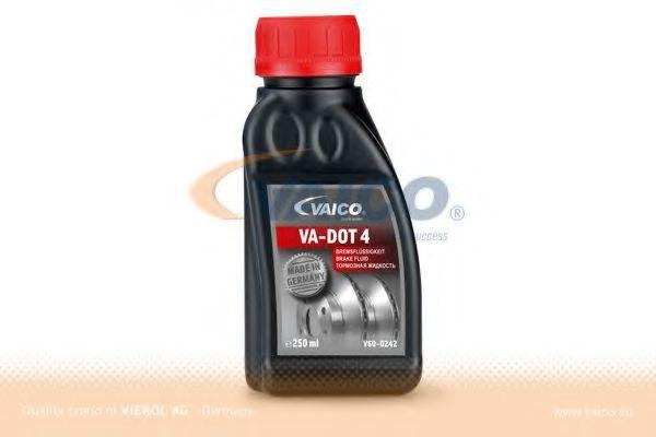 Dot 4 Гальмівна рідина 0,25L VAICO V600242
