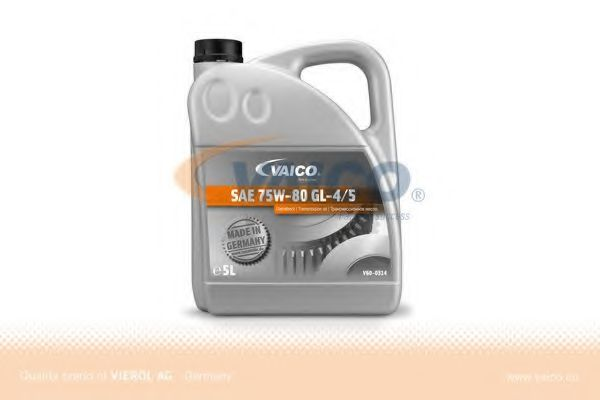 Масло трансмісійне SAE 75W-80 GL-4/5 5L VAICO V600314