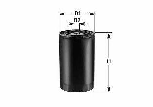 Фильтр топлива MERCEDES W123 DIESEL 08/75-08/91 CLEANFILTERS DN244