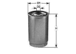Фильтр топлива BMW 3 (E36), 5 (E34), 5 (E39), 7 (E38) 1.7D/2.5D/3.0D 09.91-05.04 CLEANFILTERS DN877