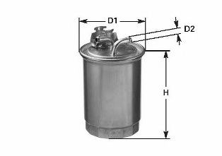 Фильтр топлива FIAT DOBLO/PALIO/PUNTO 1.9D (nr oryg. 46737091) 05/99-01/06 CLEANFILTERS DN1910
