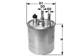 Фильтр топлива RENAULT FLUENCE/MEGANE III/SCENIC 1.5/1.9/2.0 DCI 11/08- CLEANFILTERS DN2704