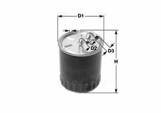Фильтр топлива SKODA FABIA, ROOMSTER; VW POLO 1.2/1.6/2.0TDI 10.09- CLEANFILTERS DN2710
