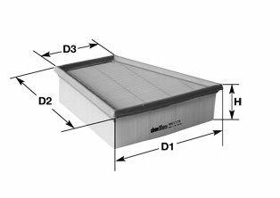 Воздушный фильтр CLEAN FILTERS MA3062  арт. MA3062