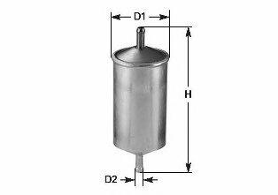 Фильтр топлива FORD FOCUS, II SEDAN, TOURNEO CONNECT CLEANFILTERS MBNA1529