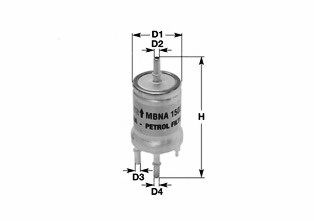 Фильтр топливный Audi A4/A6/A8 2.0TFSI/2.8FSI/3.2FSI 04- CLEANFILTERS MBNA1558
