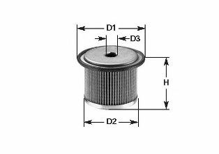 Фильтр топливный 1.9D/dTi Kangoo 97-/Clio 98-05/Megane 96-03 (Lucas) CLEANFILTERS MG083