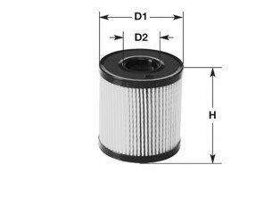 Фильтр топливный 2.0HDi Scudo/Expert 99-/Berlingo/Partner 99-05 (с-ма Siemens) CLEANFILTERS MG1602