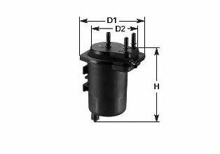 Фильтр топлива Renault MEGANE II 1.5dCi 10/02-12/04, SCENIC III 1.5dCi 4/03-12/04 CLEANFILTERS MGC1684
