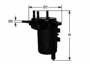 Фильтр топливный 1.5dCi Kangoo 01-08/Clio 01- (под датчик) CLEANFILTERS MGC1696