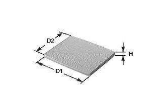 Фильтр салона MERCEDES GL320/420CDI CLEANFILTERS NC2351CA