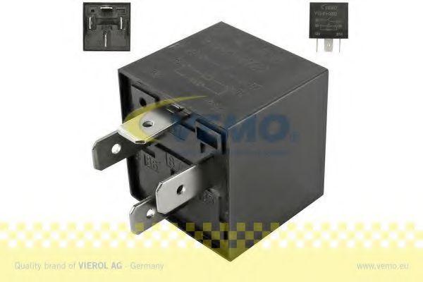 Блок управления вентилятором Реле, продольный наклон шкворня вентилятора VEMO арт. V15710002