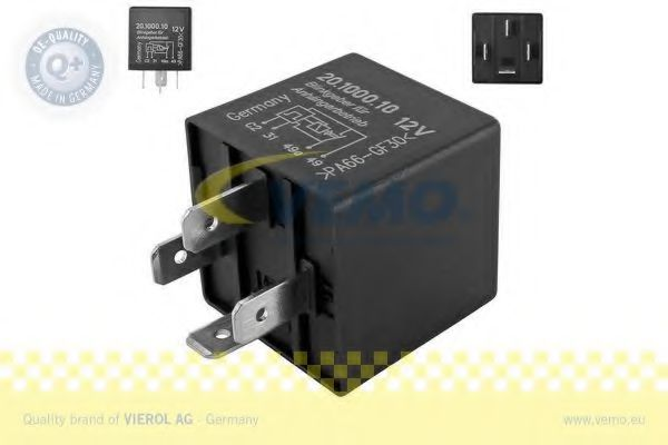 Реле указателя поворотов Прерыватель указателей поворота VEMO арт. V15710023