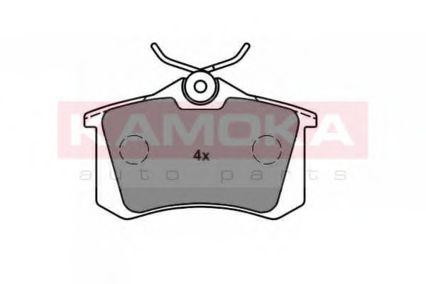 Комплект тормозных колодок, дисковый тормоз  арт. JQ1013576