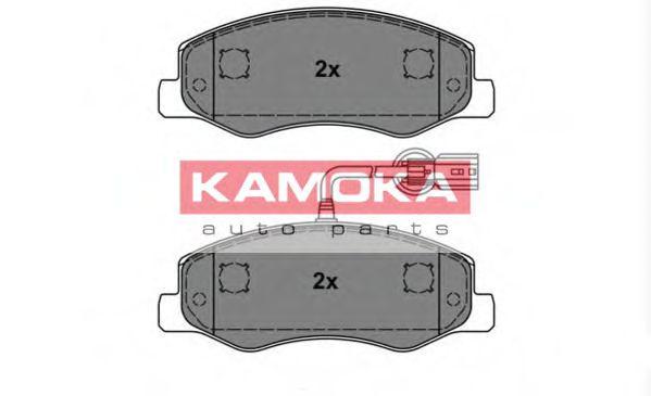 Колодки гальмівні задні Opel Movano/Renault Master 2010- /спарка/ KAMOKA JQ101140
